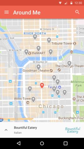 Popups Around Me - Hack Week project